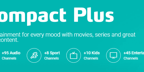 DSTV Compact Plus Channels Package