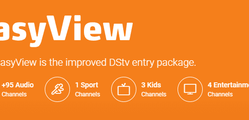 DSTV EasyView Channels Package
