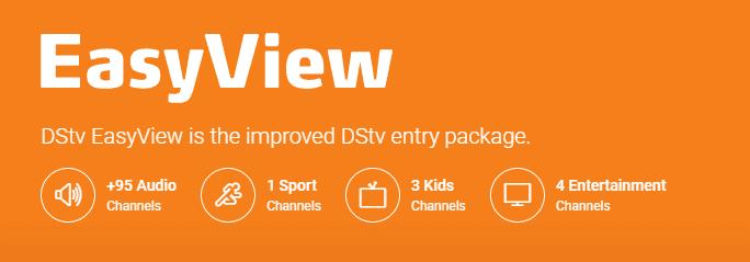 DSTV EasyView Channels Package